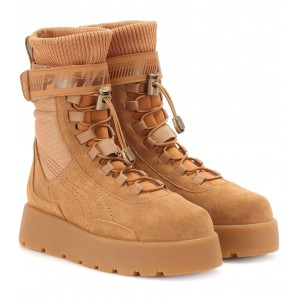Ботинки Fenty x PUMA Scuba Boot Brown