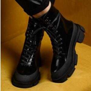 Ботинки Both x Lost General Black Fure (натуральный мех)