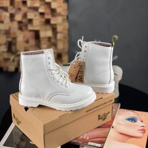 Ботинки Dr Martens 1460 white (МЕХ)