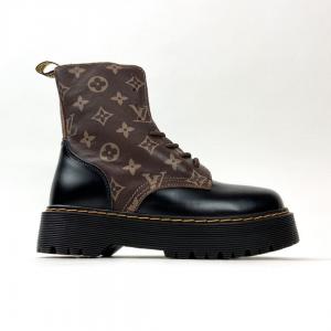 Ботинки Dr Martens 1461 X LV Brown (Мех)