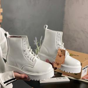 Ботинки Dr Martens Jadon Mono White (MEX)