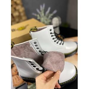 Ботинки Dr Martens Jadone White Black (MEX)