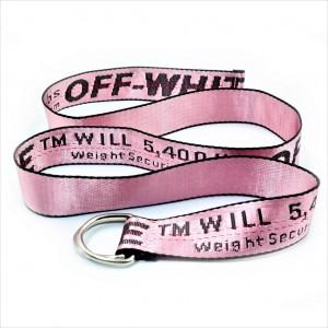 """Ремень Off-White  """"Pink"""""""