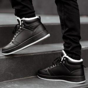 Кроссовки Stilli black высокие, no brand