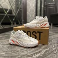 Кроссовки Adidas Yeezy 700 White Red