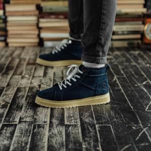 Ботинки South navy blue