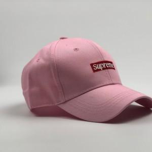 "Кепка  Supreme ""Розовый"""