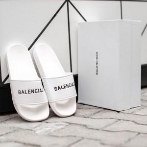 Тапочки Bаlenciaga White