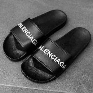 Тапочки Balenciaga black