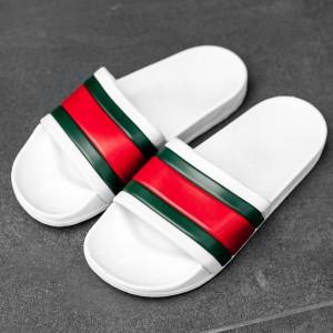 Тапочки Gucci White