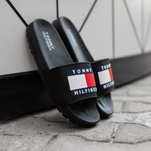 Тапочки Tommy Hіlfiger Black