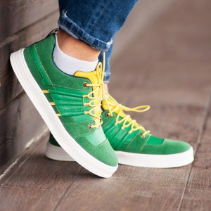 Кроссовки South Mason GREEN/YELLOW
