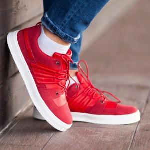 Кроссовки South Mason red