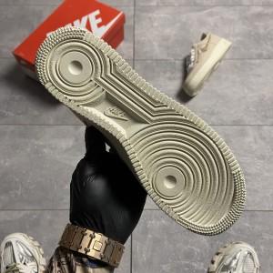 Кроссовки Nike Air Force 1 Low Fossil x Stussy