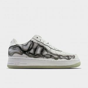 Кроссовки Nike Air Force Low Skeleton White