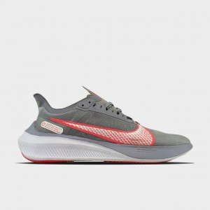 Кроссовки Nike Zoom Gravity Grey University Red