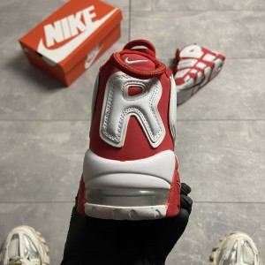 Кроссовки Supreme x Nike Air More Uptempo Red