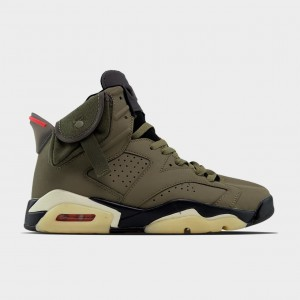 Кроссовки Travis Scott x Nike Air Jordan 6 Retro Green