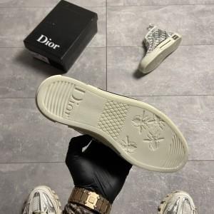 Кеды Dior B23 High-Top Grey White