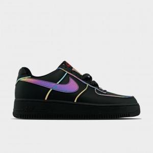 Кроссовки Nike Air Force Low Black Reflective