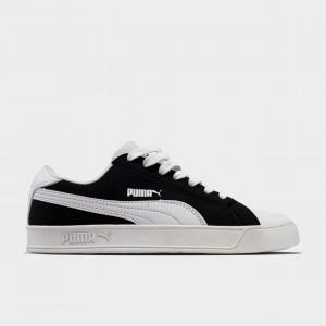 Кроссовки Puma Suede Black White