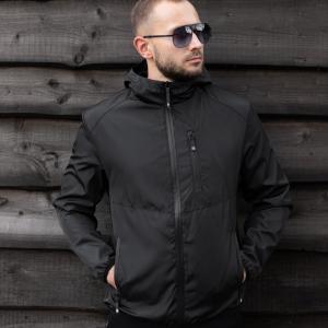 Мужская куртка SOFT, черная
