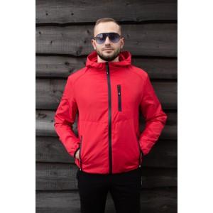 Мужская куртка SOFT, красная