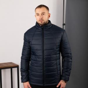 Мужская стеганная куртка, синяя