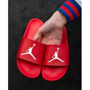 Тапки Jordan Red