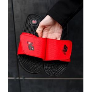 Тапки  New Balance Red