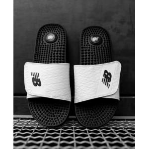 Тапки  New Balance White