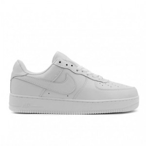 Кроссовки Nike Air Force ' Low Leather '- низкие белые