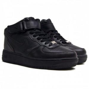 Кроссовки Nike Air Force ' Высокие черные'