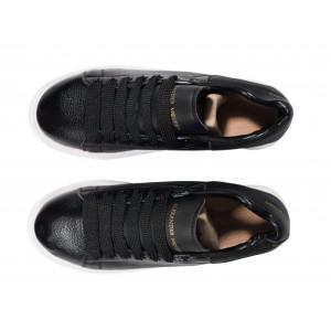 Кроссовки Alexandr Mcqueen Black Leather