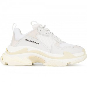 Кроссовки Balenciaga Triple S white Grey