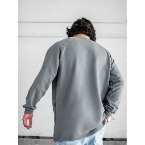 Свитшот South Oversize gray