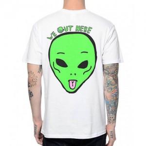 Футболка RipNDip Alien