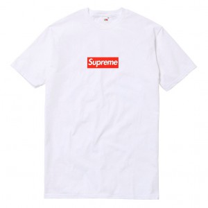 Футболка Supreme 'White'