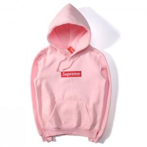 "Худи Supreme ""pink"""