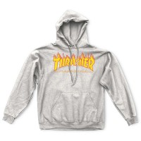 Thrasher Mag Logo Hood 'Gray'