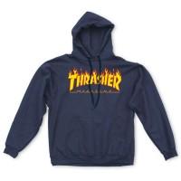 Thrasher Mag Logo Hood 'Blue'