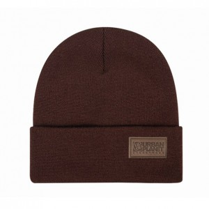 Шапка Urban Planet Beanie Casual Brown