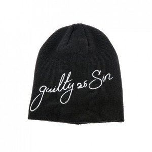 Шапка Black Scale The Guilty As Sin Beanie in Black